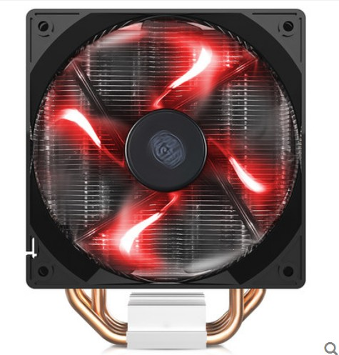 CoolerMaster Blizzard T400 T400i 4pin PWM 12cm fan 4 heatpipe for Intel 2011/1366/115x/775 for AMD CPU cooler CPU fan cooling akasa cooling fan 120mm pc cpu cooler 4pin pwm 12v cooling fans 4 copper heatpipe radiator for intel lga775 1136 for amd am2