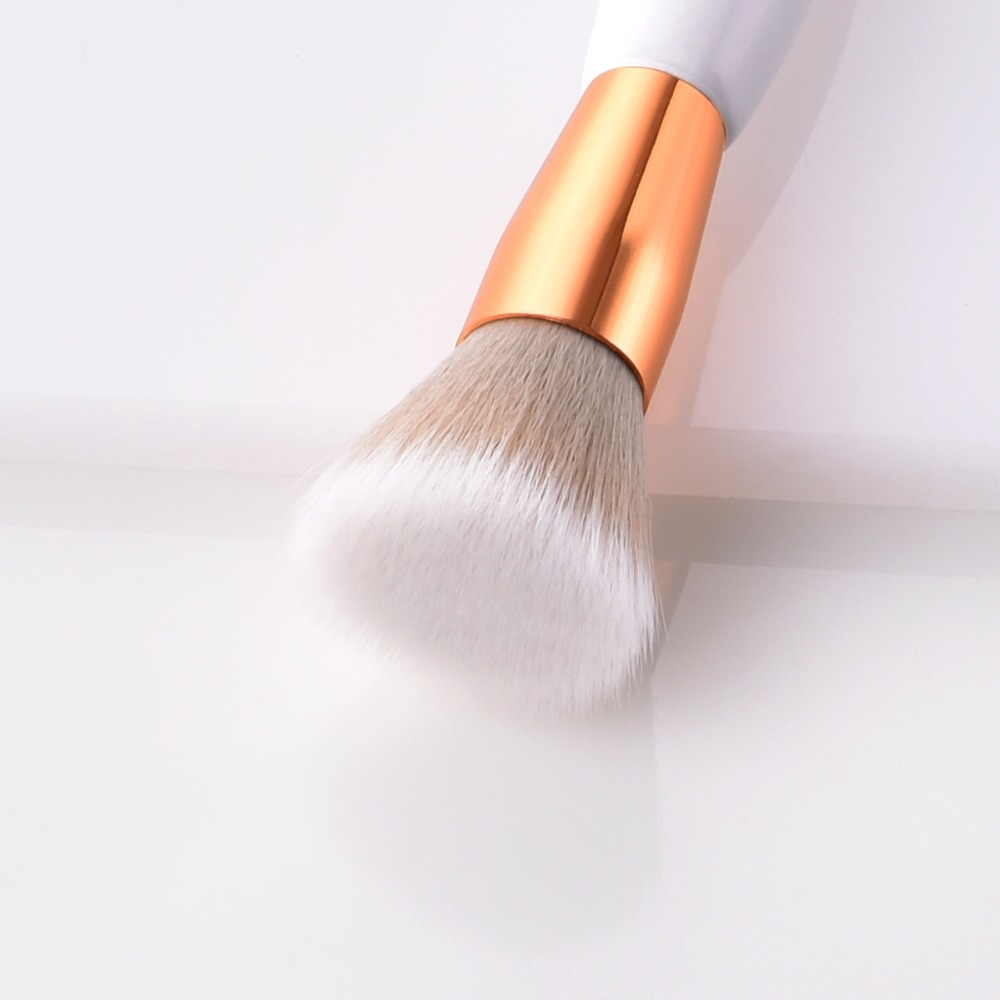 2019 8Pcs Professional Makeup Brushes Set Powder Blush Foundation Eyeshadow Make Up Fan Brushes Cosmetic Kwasten
