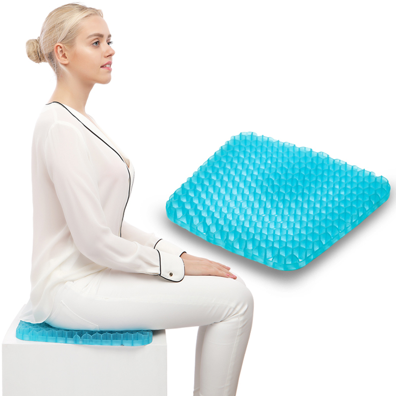 Health Care Gel Cushion Summer Cool Breathable Seat Cushion Cellular Vitality Gel Pad Home Office Car Cushion Free ShippingHealth Care Gel Cushion Summer Cool Breathable Seat Cushion Cellular Vitality Gel Pad Home Office Car Cushion Free Shipping