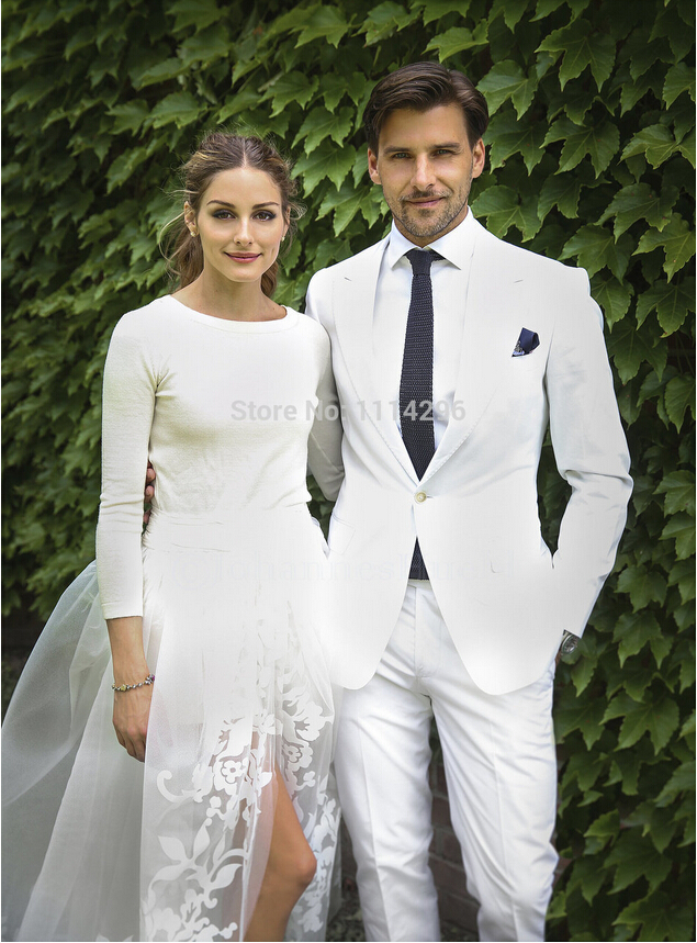 Real photo groom tuxedo suit men beach regular wedding suit black real photo groom tuxedo suit men beach regular wedding suit black tie and white jacket or pant in tuxedos from weddings events on aliexpress alibaba junglespirit Images