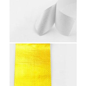 Image 4 - Car Thickened Heat Shield Reflective Aluminum Foil Tape Auto Engine Pipe Cover Temperature Isolat Adhesive