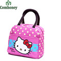 Child Hello Kitty Lunch Bag Cartoon Minion Doraemon Thermal Cooler Food Bag Kids Girls Women Kawaii Insulated Food Picnic Box