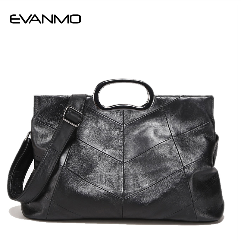 Luxury Handbags Genuine Leather Women Bags Designer Women's Leather Handbags Big Casual Tote Bag Ladies Shoulder Bag ladies genuine leather handbag 2018 luxury handbags women bags designer new leather handbags smile bag shoulder bag