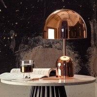 Современные Дизайн er минималистский Мода гриб творческая студия Книги по искусству Дизайн настольная лампа Марсден кровать настольная лам
