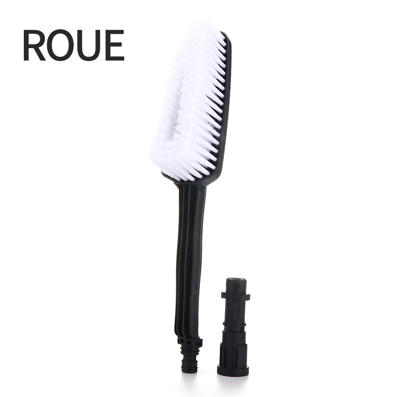 ROUE Rushed Dense Soft Brush Effortless Cleaning Large Area Connect With High Pressure Gun  For Karcher
