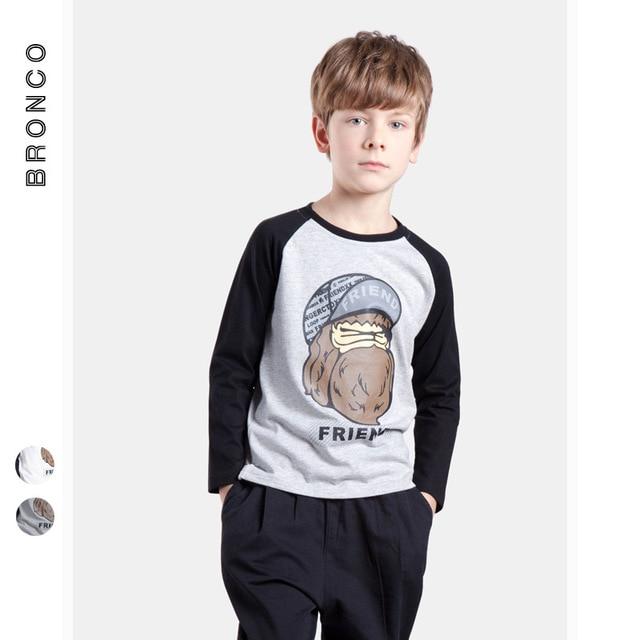 Детская одежда   2017 весна раздел Японский футболка мальчик с длинными рукавами друг ape head футболка с длинным рукавом