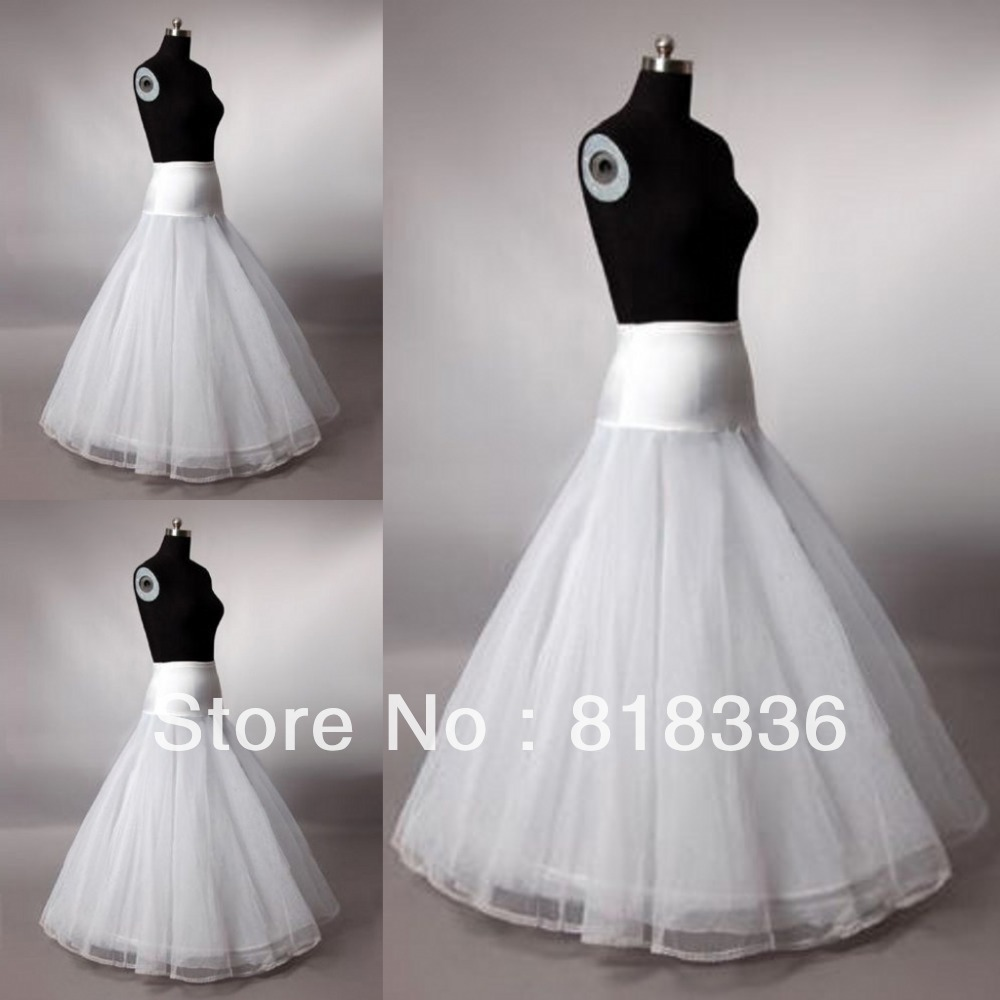 Wedding Gowns Accessories: Hot Sale Bridal Accessories Petticoat Crinoline Suitable