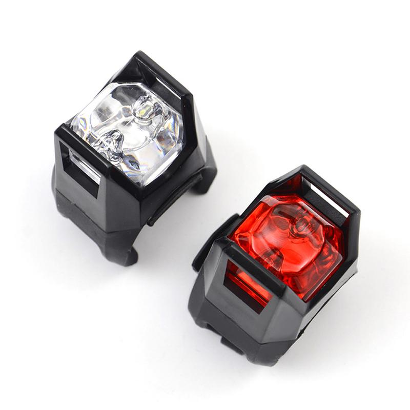 LACYIE Bike Bicycle LED Rear Tail Light Lamp Bulb Red White Back Cycling Safety Warning Lights Reflector Accessories