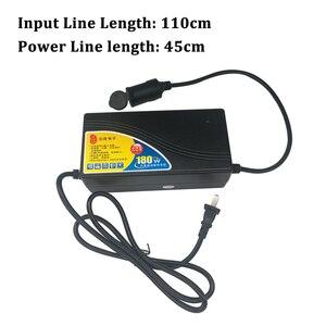 Image 5 - Buendeer 180W 15A Car Cigarette Lighter Power Adapter AC 110V/220V to 240V  Converter Inverter for Air Pump /Vacuum Cleaner 12V