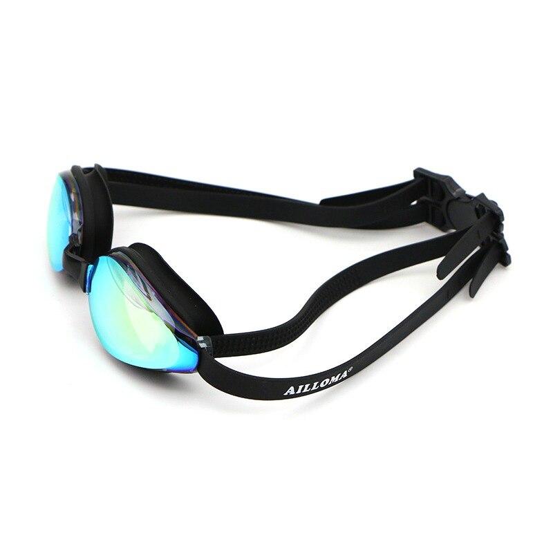50bf11c0d Profissão AILLOMA Ampla Visão Óculos de Natação Feminino Masculino Óculos  Óculos de Lente PC À Prova