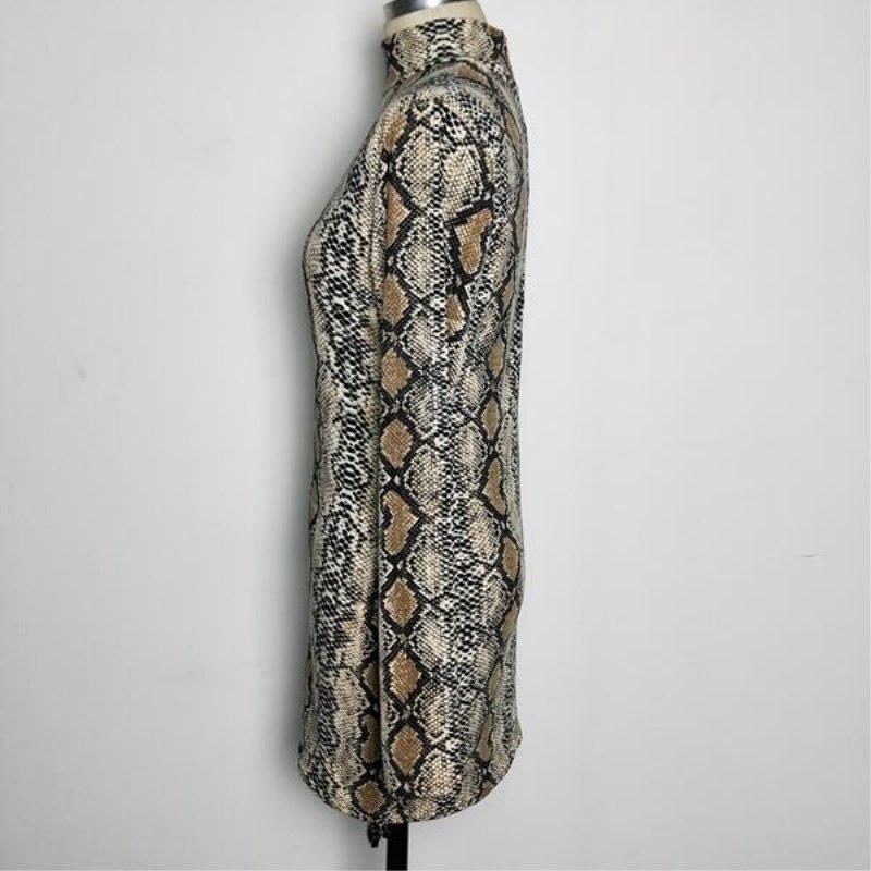 Autumn Dress 2018 Women Dresses Zipper O neck Sexy Dress Long Sleeve Bodycon Sheath Pack Hip Dress in Dresses from Women 39 s Clothing