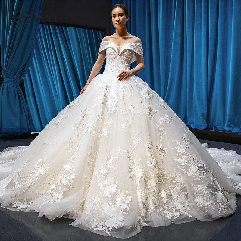 Vestido De Novia Blanco Elegante Cuello En V