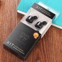 HUINIU Mini Twins Wireless Earpiece Bluetooth Earphone In Ear Cordless Bluetooth Stereo Earbuds Headset For Phone