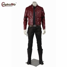 Cosplaydiy Guardians of the Galaxy Star-Lord Peter Jason Quill Cosplay Costume Adult Men Halloween Outfit Custom Made