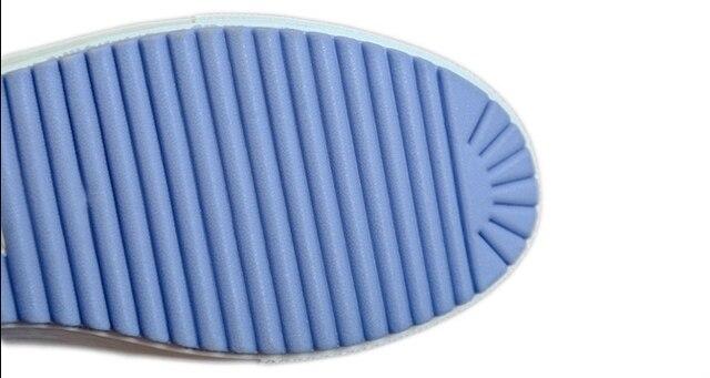 Blue Dot Tennis Shoes 5