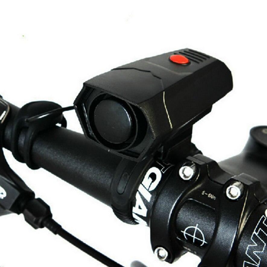 Timbres Ciclismo cuernos Bicicleta electrónica Manillares anillo campana cuerno fuerte ruidoso alarma de aire Bell sonido bicicleta cuerno Seguridad