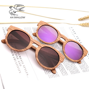 Image 5 - Womens Bamboo Sunglasses Polarized Zebra Wood Glasses Handmade Vintage Wooden Frame Mens Driving Sunglasses Cool Polarization