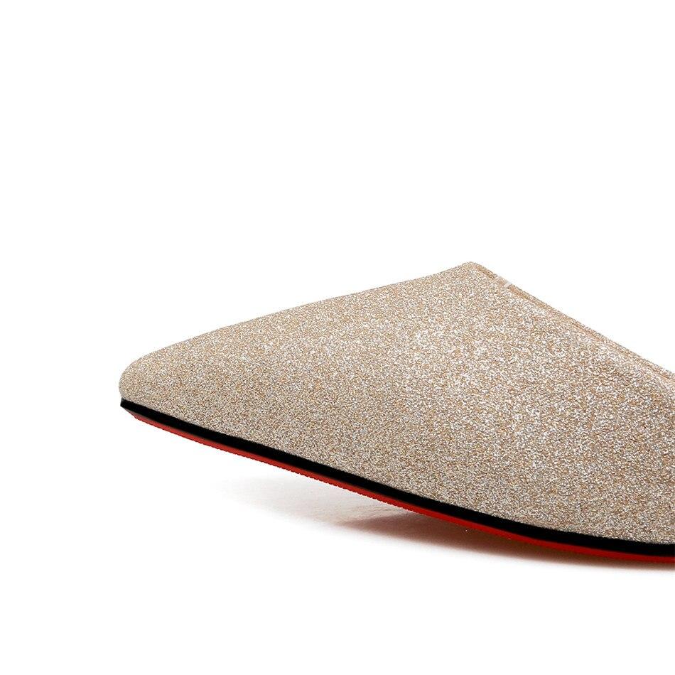 Noce À 2018 Pompes Chaussures Sexy Hauts Haute Femmes De Talons Argent Gold Glitter silver D'été Femme Or black Bling f0nwq7g