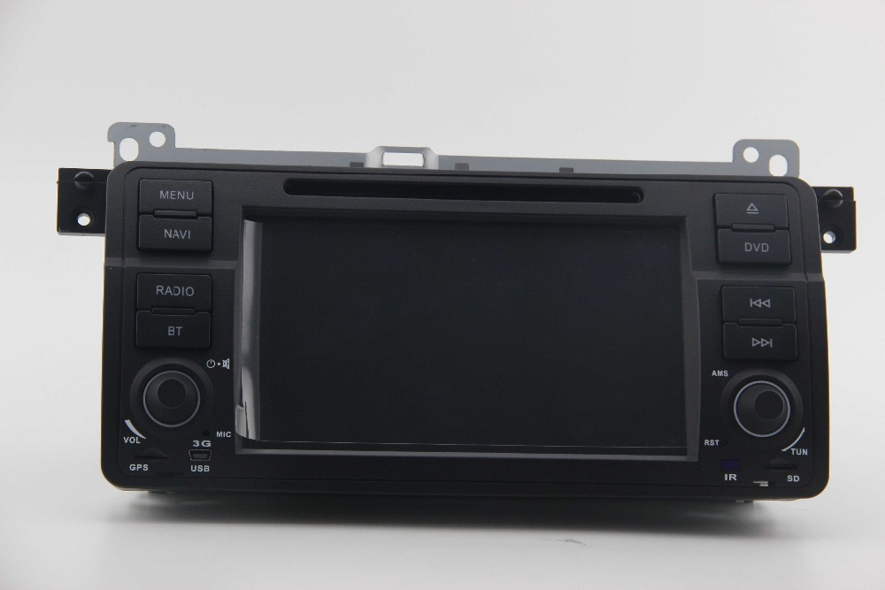 ZESTECH Car DVD Player Stereo GPS Navigation for BMW 3 E46 Series Support font b iPhone