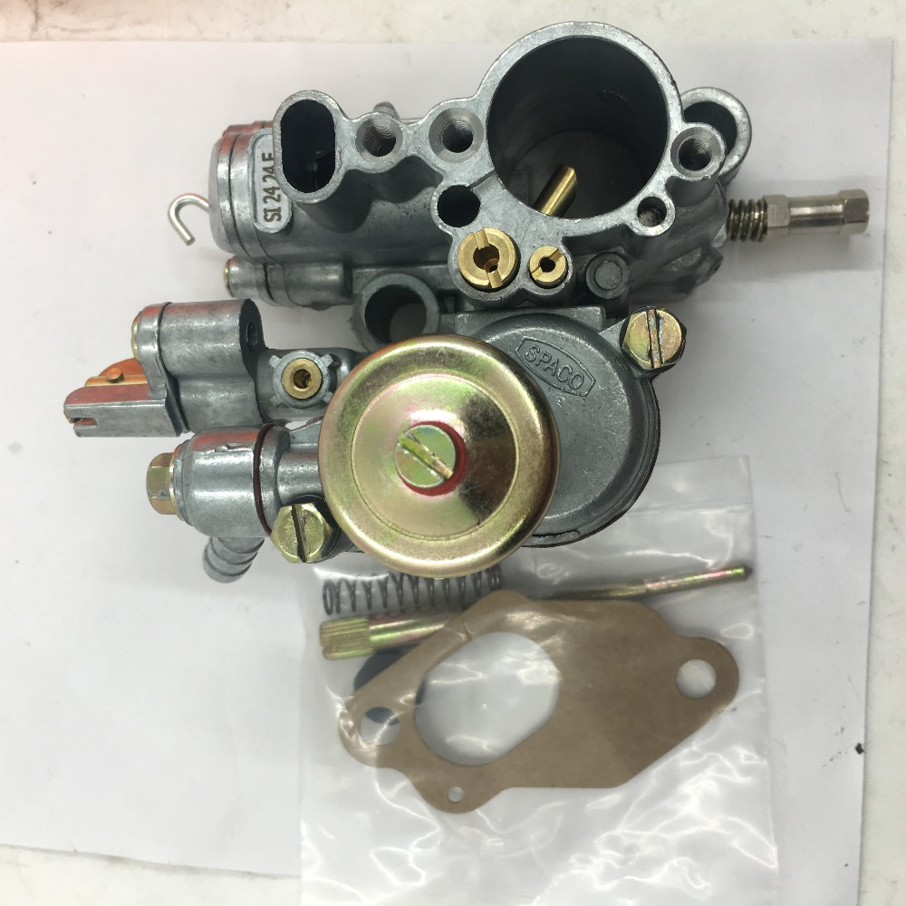SherryBerg CARBURETTOR carby for Vespa24 carburetor carb 100cc 150cc spaco Two Stroke 24mm non mix vergaser