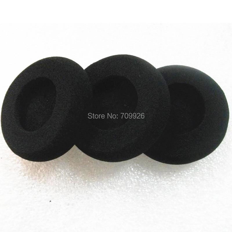 Linhuipad 10 Pack Headset e Kufjeta të Shkopit të Shkurtër, Zëvendësimi i jastëkëve të veshit me diametër 58 mm të përshtatshëm në kufjet Plantonic