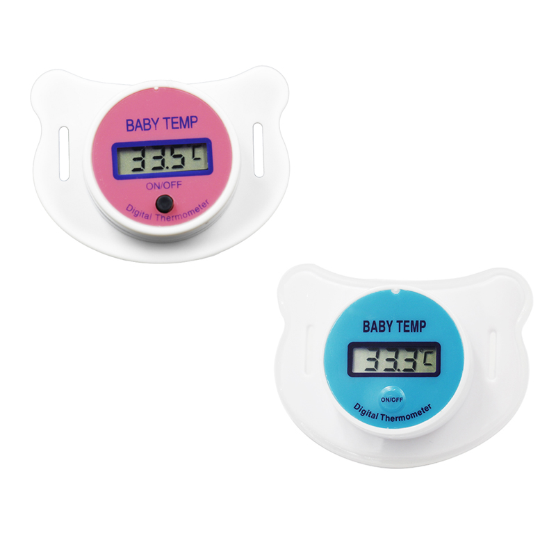 by dhl/fedex 100pcs Health Monitors Baby Nipple Thermometer Baby Pacifier LCD Digital Mouth Pacifier Temperature meter 20%off