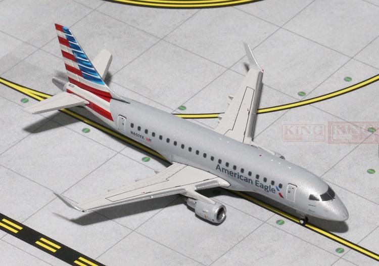 GJAAL1341 GeminiJets American Airlines N401YX 1:400 ERJ-170 commercial jetliners plane model hobby