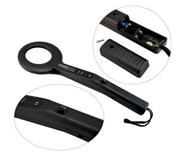 20pcs/lot Wholesale Selling Hand-Held Metal Detector MD-200 Audio and Vibrator Alarm DHL Free Shipping