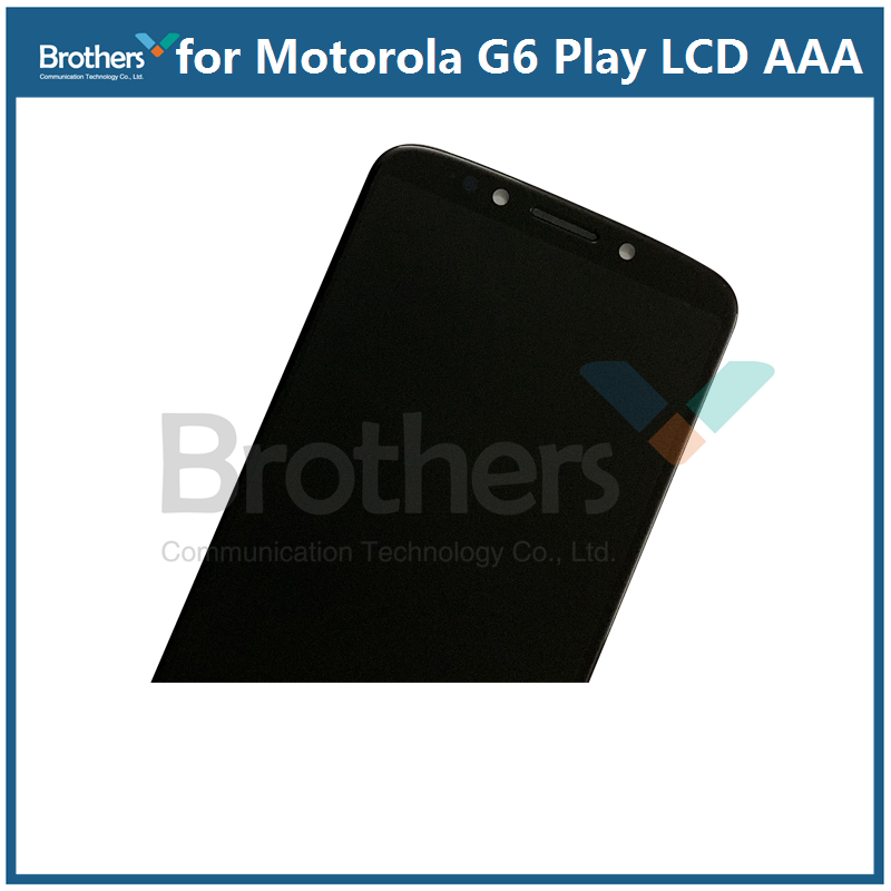 For Motorola Moto G6 Play LCD Display Touch Screen Panel for XT1922 Mobile  Phone Lcds Digitizer Assembly Replacement Parts 5 7