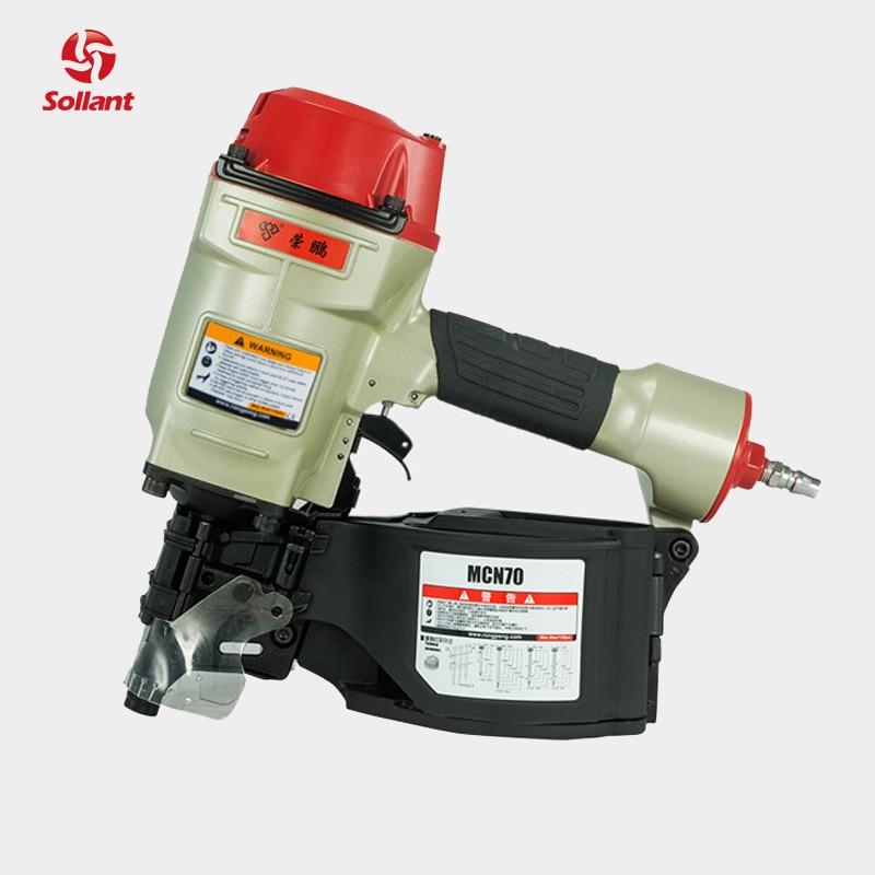 Pneumatic Tools Coil Nailer Guns Air-Nailing-Gun CN80 CN70 CN55 CN100 CN90 Excellent-Quality