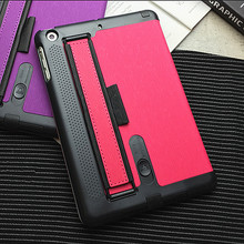 Fashion Tablet Smart Case 7.9″ for iPad Mini 3 PU Leather Stand Cover for iPad Mini 2 Retina Back Case Loud Speaker Hand Holder