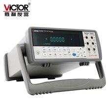 Виктор VC8246B VC8246A настольный мультиметр 1000 В 10A Авто Диапазон 55000 графы цифровой мультиметр AC/DC USB RS-232 дБм null