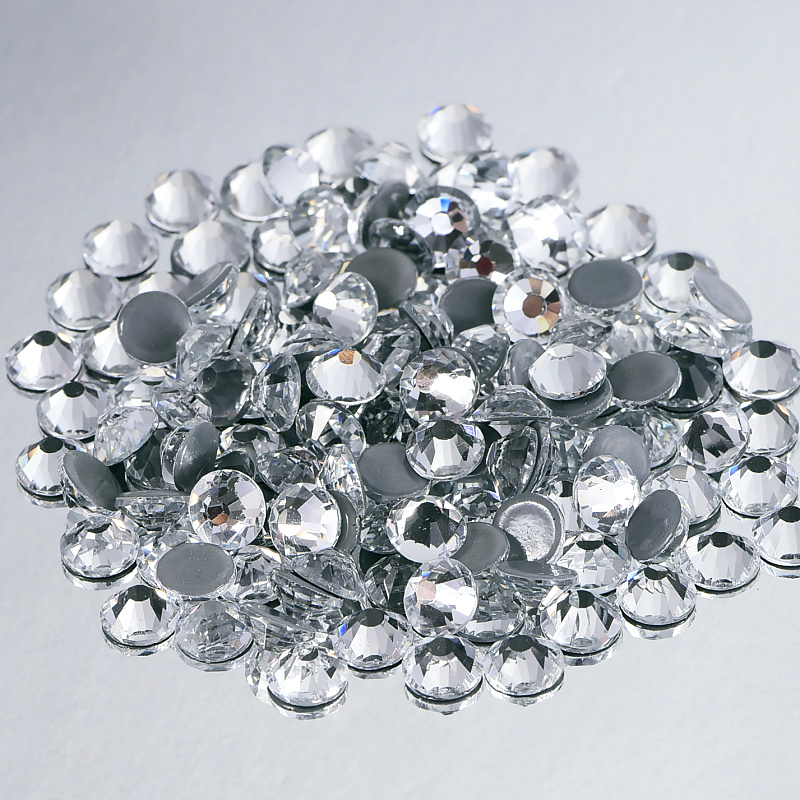 Aliexpress Com Buy 1440pcs Gold Bottom Crystal Clear: Aliexpress.com : Buy Crystal Hot Fix Rhinestones 4A Clear