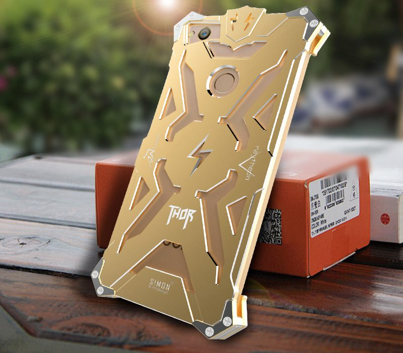 Simon Thor Metal Case for ZTE Nubia Z11 Shockproof Armor IRON MAN Protective Cover Coque Housing