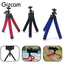 Gizcam Flexible Joints Sponge Octopus Tripod Support Gripping Stand For Digital