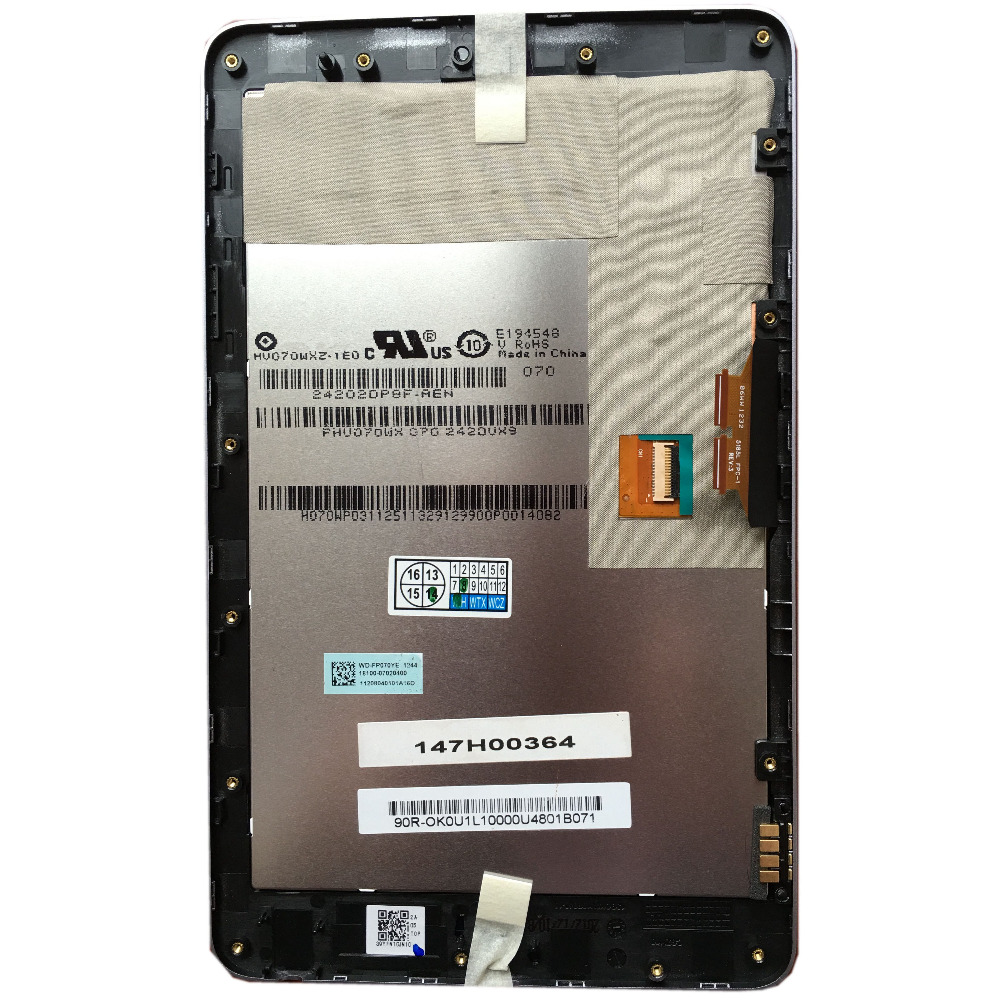 FOR 2012 Asus Google Nexus 7 ME370T WIFI LCD Screen Digitizer Touch+Frame US Tks