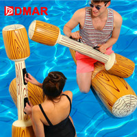 DMAR 4 Pieces Joust Pool Float Game Inflatable pool toys swimming Bumper Toy For Adult Children Party Gladiator Raft swim ring