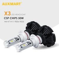 H3 H4 H7 H11 H13 9005 9006 CREE LED Car Headlight Hi Lo Beam Single Beam
