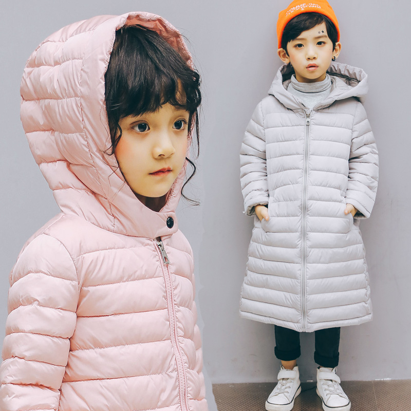 New Kids Winter Jackets For Girl Warm Hooded Down Jackets For Boys Jacket Teens Girls Coat Children Winter Clothing Boys Coat 14 купить