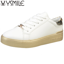 2017 High quality women flats shoes brand superstar footwear gold female designer platform shoes thick bottom casual women flat