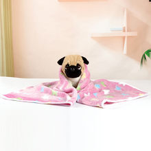 Winter Dog Blanket Cat Bed Rest Pad Foldable Pet Cushion Sleep Mat Hondenmand Coral Cashmere Sweet Dog Bed L4(China)