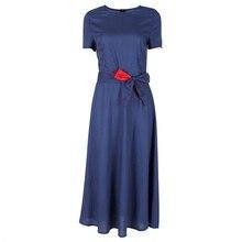 Frauen vintage dot muster sommer kurzarm kausalen dress formale abend-partei midi dress s-xxl