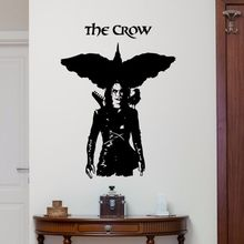 Movie Poster Wall Decal Vinyl Removable The Crow Stickers Home Bedroom Living Room Decor Art AY0209