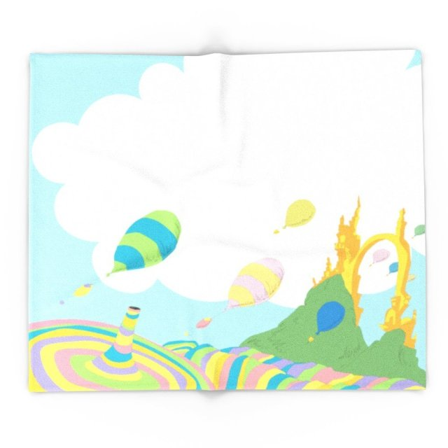 oh the places you ll go dr seuss 51 x 60 blanket in blankets