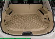 Высокое качество! специальная магистральных коврики для Nissan X-trail T32 2016-2014 прочный водонепроницаемый загрузки ковры для XTRAIL 2015