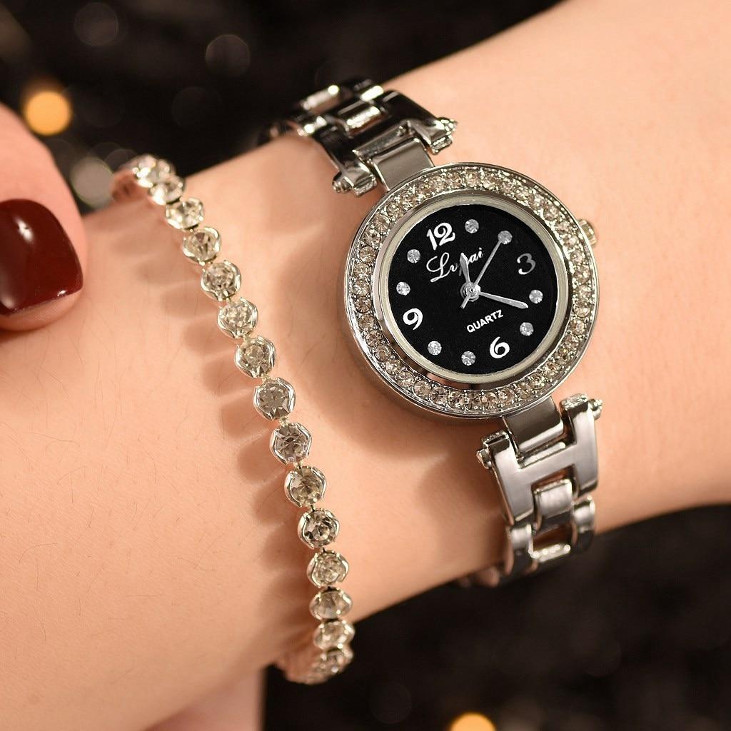 Montre avec strass et bracelet Laurier en coffret 3