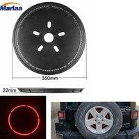 Red Spare Tire Lights LED 3rd Brake Light For Jeep Wrangler 2007 2017
