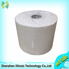 Roll 24cm*200m non-woven cloth fabric clean room wipes for inkjet printer.