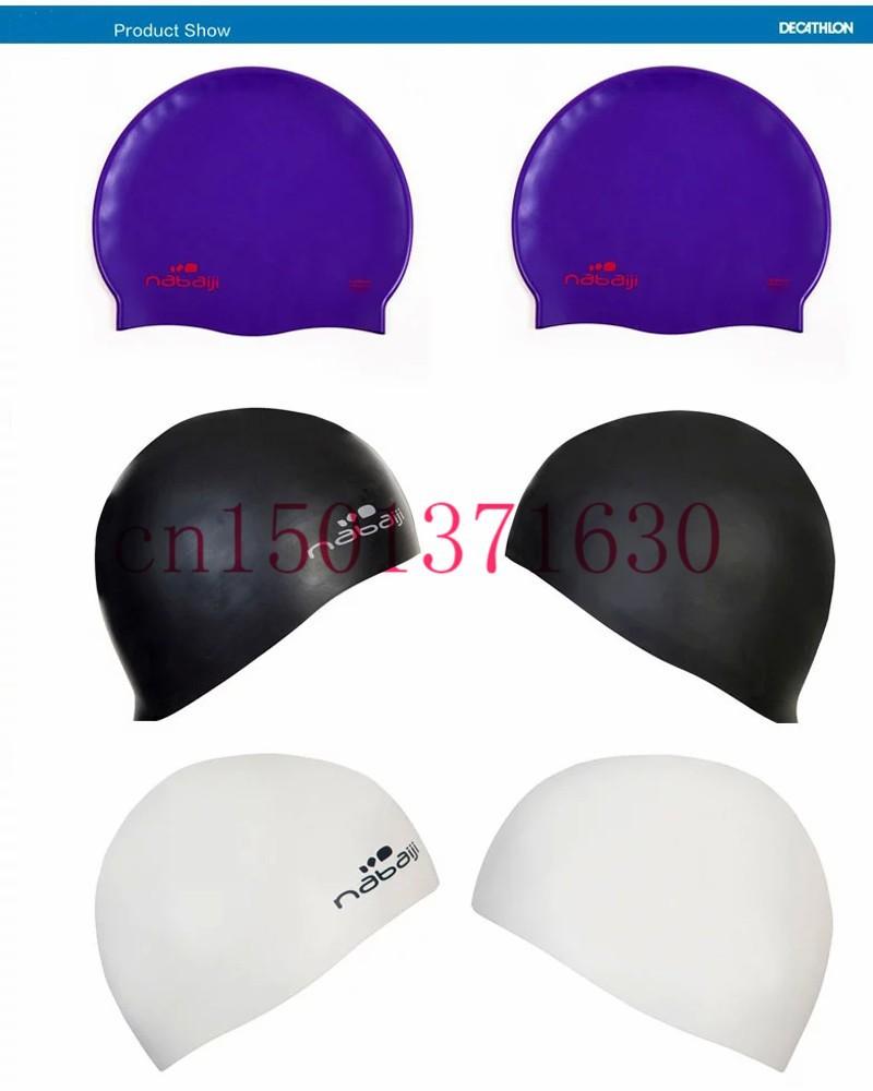 2015 de silicona gorro de baño mujeres resistentes al agua pelo ... abd44995730