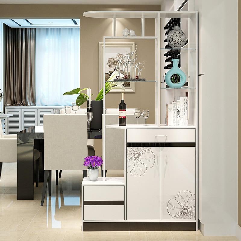 Kitchen Partition Design: Man Patriarch Entrance Hall Cabinet Shoe Cabinet Wine